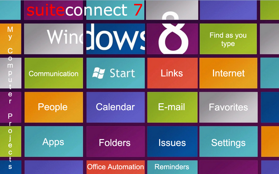 Windows 8 UI in Suiteconnect 7